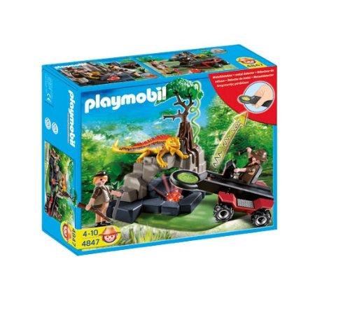 Playmobil - 5101 - Jeu de construction - Tente préhistorique avec chasseurs