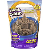 The One and Only Kinetic Sand, 3lbs Beach Sand for Ages 3...