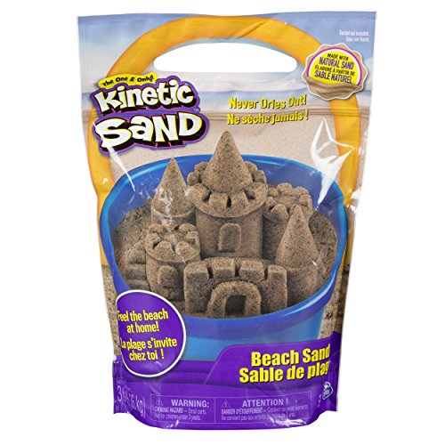 The One and Only Kinetic Sand, 3lbs Beach Sand for Ages 3 and Up (Packaging May Vary)