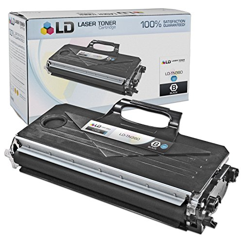 LD Compatible Toner Cartridge Replacement for Brother TN-360 High Yield - 7440n Mfc Brother
