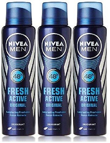 Buy 2 Get 1 Free Nivea Fresh Active Deodorant