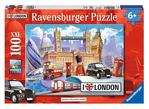 Ravensburger – I Love London – J'aime Londres – 100 Pièces – 49x36cm (Import Grande Bretagne)