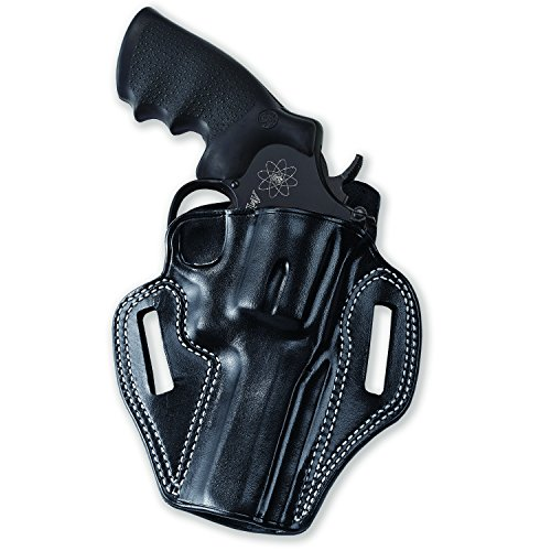 Combat Master Belt Holster Galco CM104B, Black - Smith & Wesson L-Frame 686 4