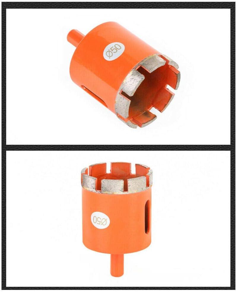 Trou Scie Foret Forage Outils de Noyau Creux Scie Tr/épan pour Carrelage B/éton Porcelaine Granit Dgaddcd Tr/épan Diamant Marbre Diam/ètre 35 mm C/éramique
