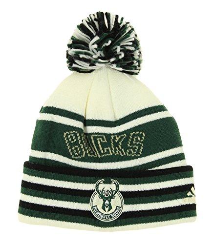 Milwaukee Bucks Pom Hat Bucks Hat With Pom Bucks Pom Beanie