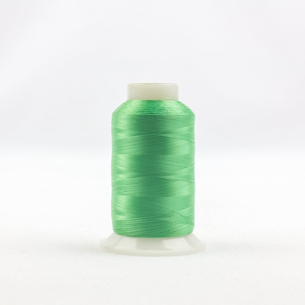 WonderFil Silk-Like Thread for Fine Sewing Specialty Threads 100wt 2500m 2-Ply Cottonized Soft Polyester Wine InvisaFil