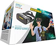 Heromask Virtual Reality Headset for Children + Video Games to Learn Spanish Italian etc [Language Learning] Stem Toys. Kids
