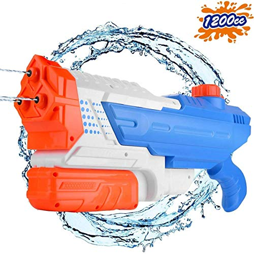 Water Shooters make fun Easter basket stuffers for boys