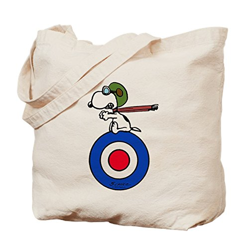CafePress Tote Bag - Peanuts Snoopy Target Ace Tote Bag by CafePress