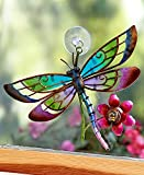 Glass & Metal Dragonfly Suncatcher