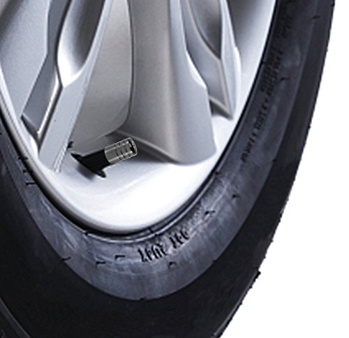 Audi Metal Chrome Car Tyre Wheel Valve Dust Caps Cover A1 A3 A4 A5 A6 A7 TT Q7
