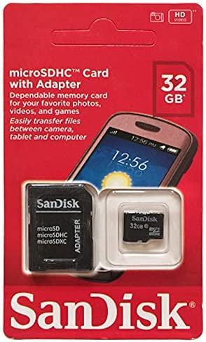 Sandisk 32 GB Memory Card For Multi - Micro SD High Capacity