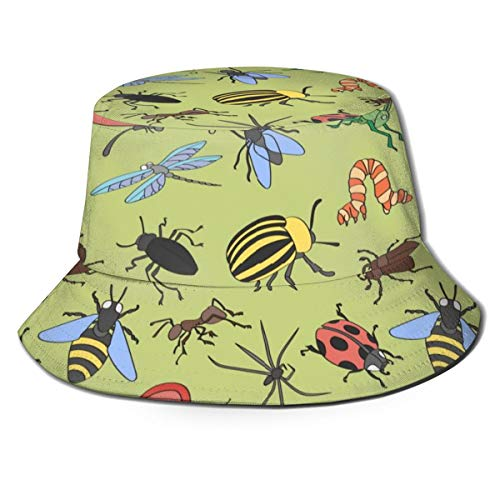 Insects Pattern Unisex Cute...