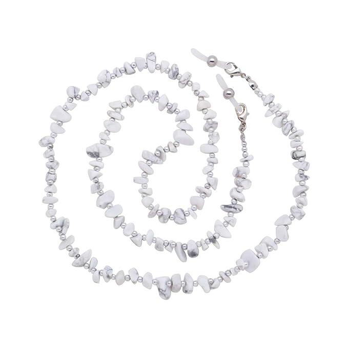 KAI Top Glass Seed Bead Eyeglass Chain Reading Glass Sunglass Strap Holder