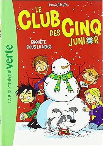 Amazon Fr Le Club Des Cinq Junior 08 Enquete Sous La
