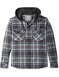 Men's Hooded Tang Flannel Shirt