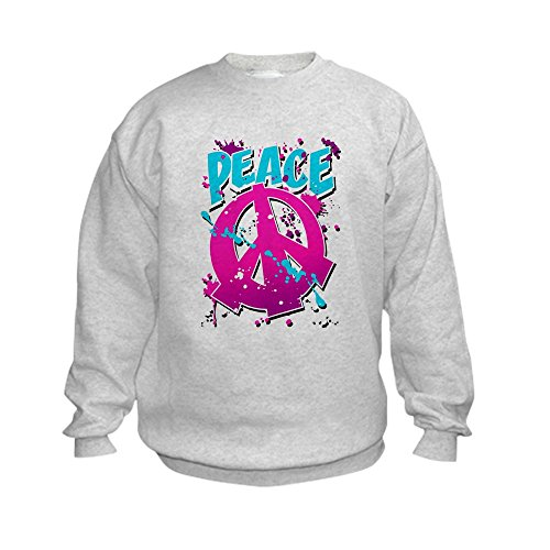Peace Sign Kids Sweatshirt - 4
