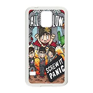 Qxhu All Time Low patterns Hard Case Back Cover for SamSung Galaxy S5 I9600