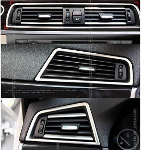 2015 Flying High Conduite /à Gauche ABS Matte Console Centrale Coffre de Sortie d/évacuation pour BMW S/érie 5 F10 2011