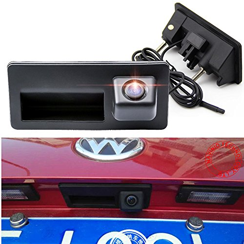 Navinio Backup Camera with Tailgate Handle for Universal Monitors (RCA)...