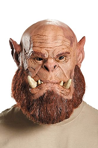Warcraft: Orgrim Orc Warrior Deluxe Mask (Orc Halloween Mask)