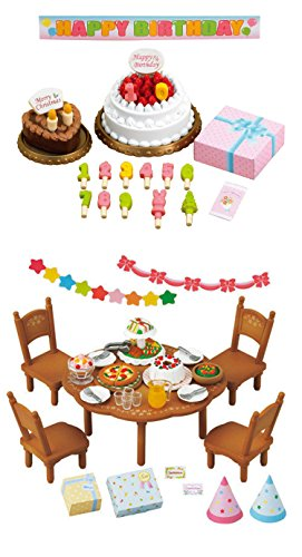 - 2 Sets - Fun and Party Theme - Birthday Cake and Home Party Sets (Japan Import)