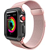 For Apple Watch Band 38mm Milanese Loop for iWatch Bands Rose Gold