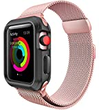 For Apple Watch Band 38mm Milanese Loop for iWatch Bands...