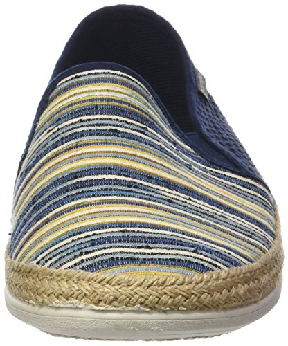 Blau Par Mixte Rejilla Victoria Lona Blucher erwachsene Wamba marine Espadrille 4xH1n8xR