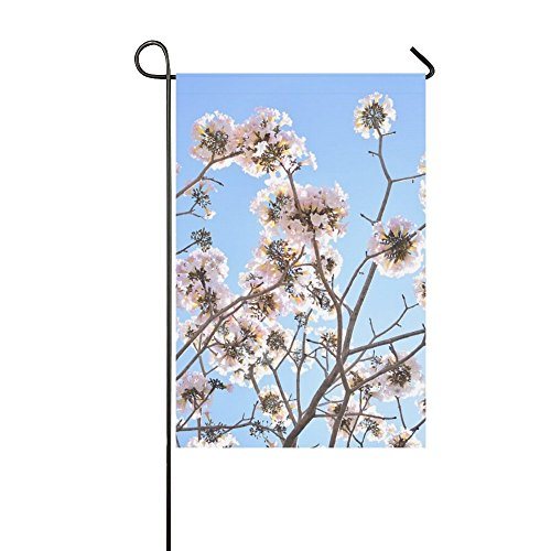 Home Decorative Outdoor Double Sided Flowers Pink C Nature P