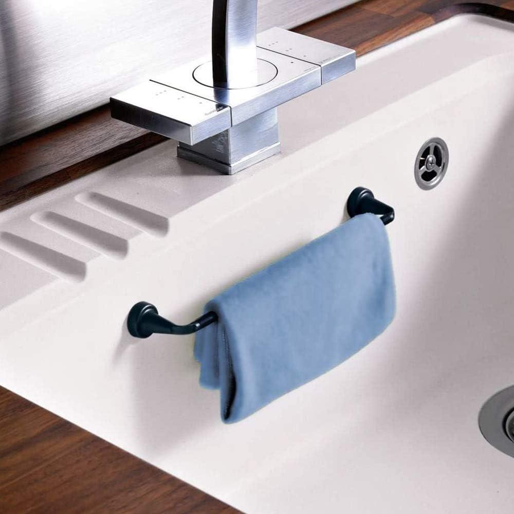 Soporte magn/ético de Pa/ño//Esponja para trapo de fregadero de cocina FLEXIBLE Material//Color: Acero inoxidable cubierto con pl/ástico GRIS color:gris