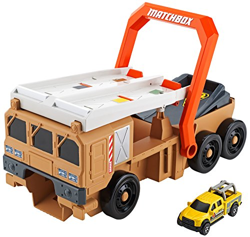 Matchbox Power Launcher Military Truck