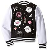 Betsey Johnson Girls' Girly Varsity Jacket