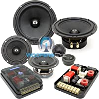 ES-632i - CDT Audio 6.5 3 230W RMS 3-Way ES-Gold Series Component Speakers System