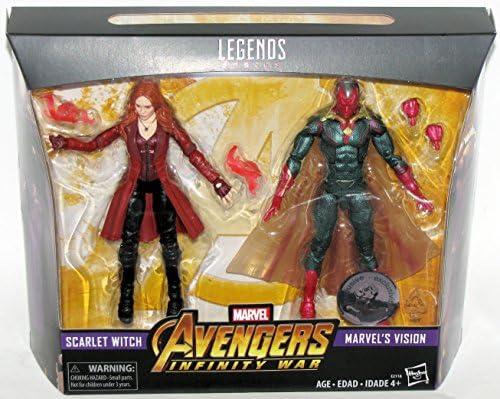 "en plastique Marvel Legends 6/"" SCARLET WITCH Avengers Infinity guerre MCU Vision"
