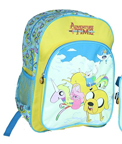 Adventure Time Jake and Lady Rainicorn in the Clouds Back Pack ()