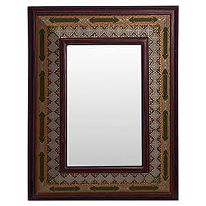 Pan Gulf Rectangular Wall Mirror For Living Room
