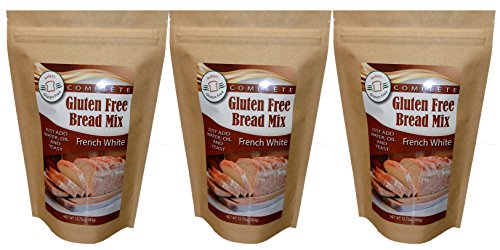 Free Gluten Bread French (Judee's Gluten Free Bread Mix (3 French White Mixes))