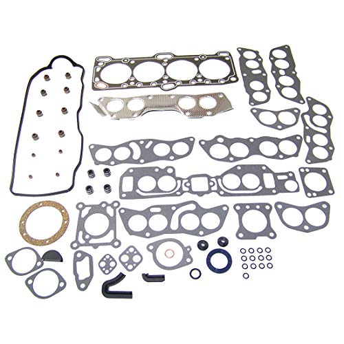 DNJ HGS108 Graphite Head Gasket Set/For 1985-1992 / Dodge, Eagle, Hyundai, Mitsubishi, Plymouth/Colt, Expo, Galant, Mighty Max, Ram 50, Sonata, Summit, Van / 2.4L / SOHC / L4 / 16V, 8V / VIN W