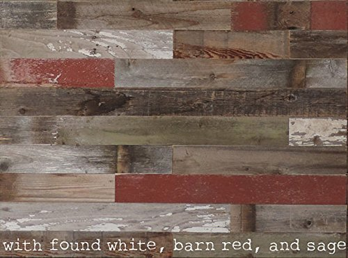 Amazon.com: Box of 20 square feet. Reclaimed Wood Wall Paneling DIY asst  3-inch boards. Barnwood boards choice of colors.: Handmade - Amazon.com: Box Of 20 Square Feet. Reclaimed Wood Wall Paneling