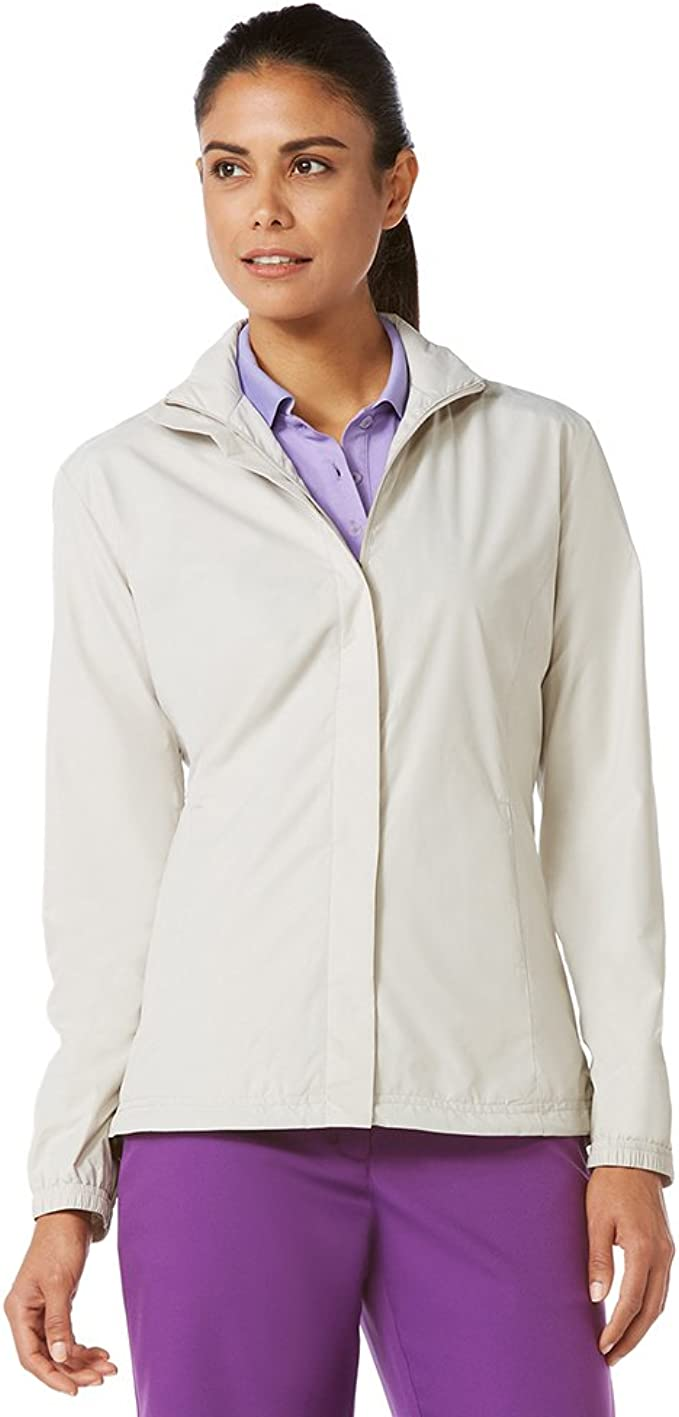 Callaway womens Long Sleeve Wind and Water-resistant Jacket