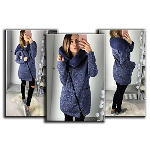 Tonsee manteau Long Hooded Casual Femmes Jacket Hiver fRzgwq