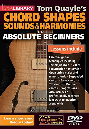 Amazon.com: Absolute Beginner - Chord Shapes, Sounds and Harmonies ...