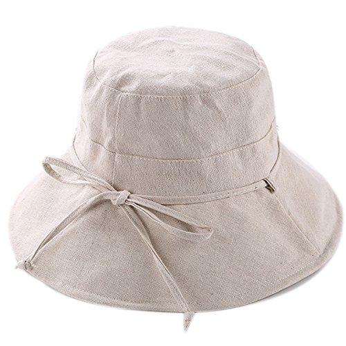 HAPEE Womens Sun Hat,Both Sides wear,UPF 50+ Beach Hat Foldable Wide Brim by HAPEE (Image #2)