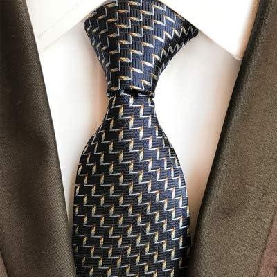 HYCZJH Corbatas de Seda Delgadas Corbata Trajes de Negocios de ...