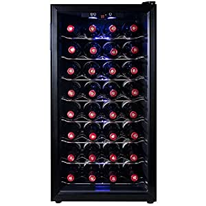Firebird 32 Bottles Single Zone Thermoelectric Freestanding Adjustable Temperature Control Electric Wine Cooler Cellar (WC0003)