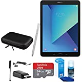 Samsung Galaxy Tab S3 9.7 Inch Tablet with S Pen - Silver - 64GB Accessory Bundle includes 64GB MicroSD Card, and more