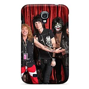 Protector Hard Cell-phone Case For Samsung Galaxy S4 (ifG14254gViq) Customized HD Kiss Band Pattern