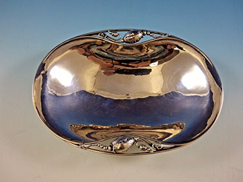 Blossom by Georg Jensen Sterling Silver Oval Bowl 7 3/8
