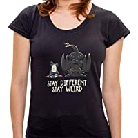 Camiseta Stay Different - Feminina